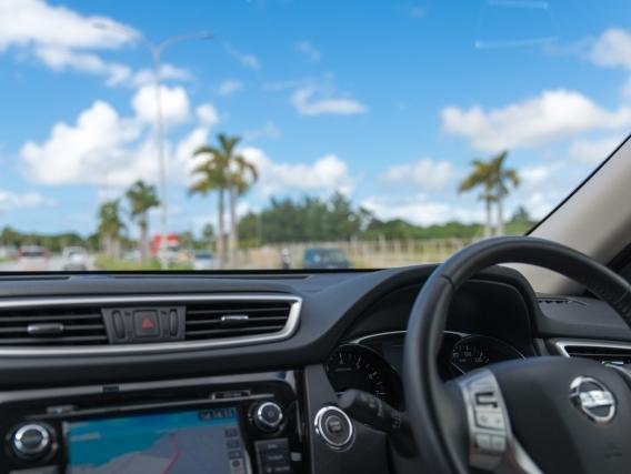 [【旅Q~フリープラン~】観光に便利な「レンタカー付き宿泊プラン」] レンタカーで快適な指宿観光をお楽しみください
